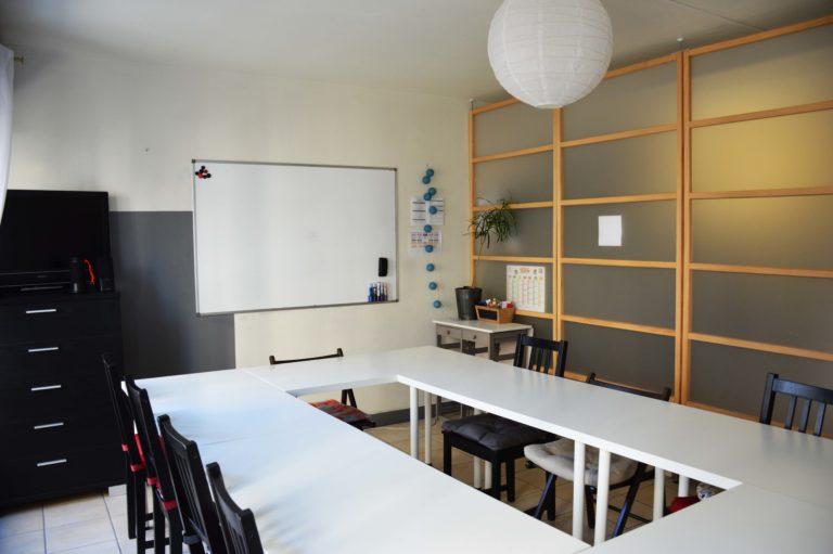 Salle de cours FLE Nantes